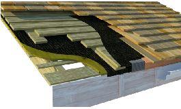 cedar wood substructure