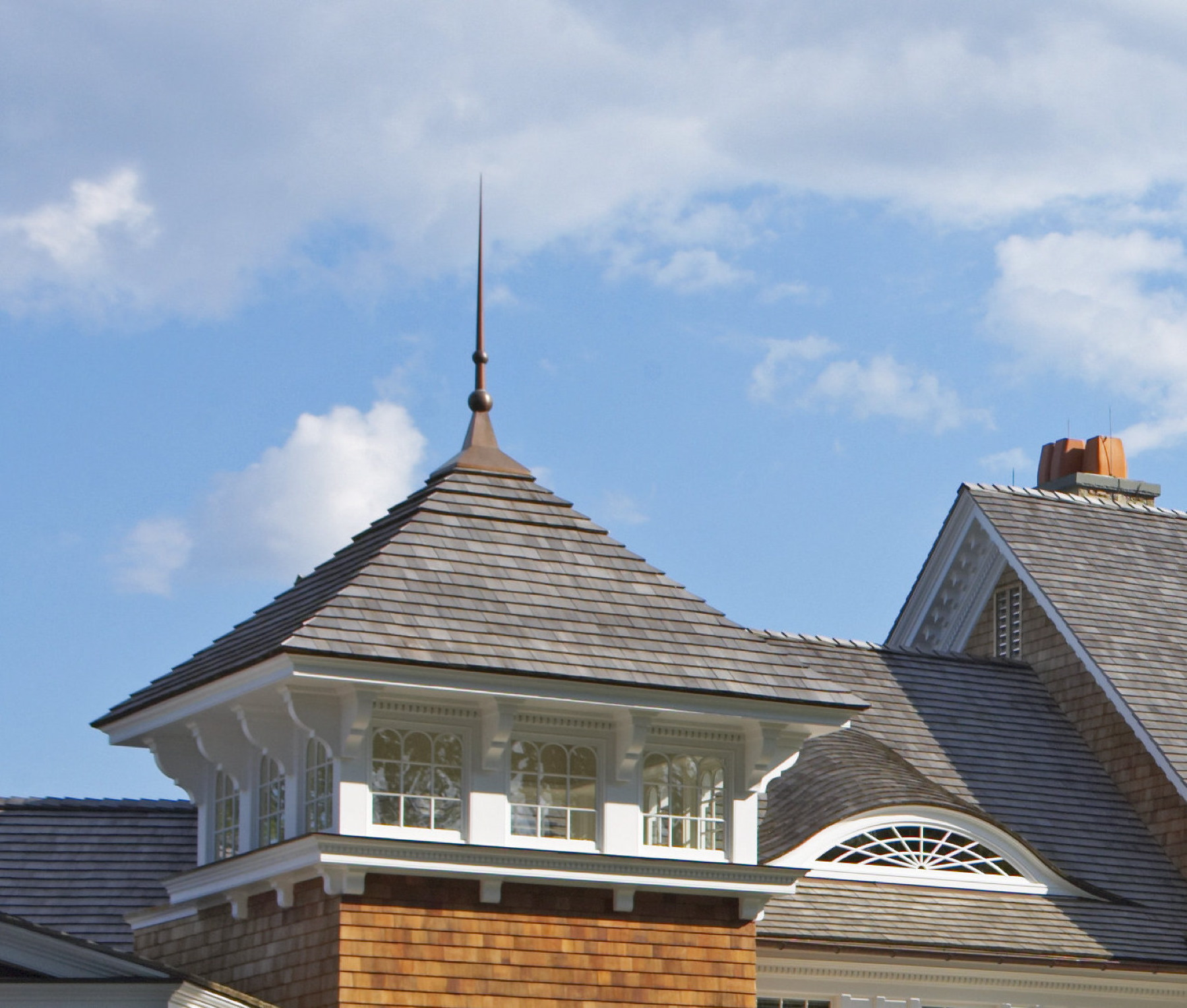 Project Custom Copper Finial Donahue Wood Roofing